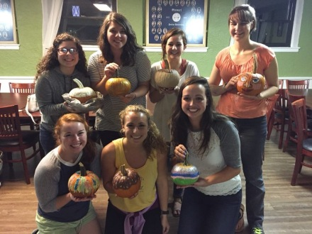 Pumpkin Painting Social!